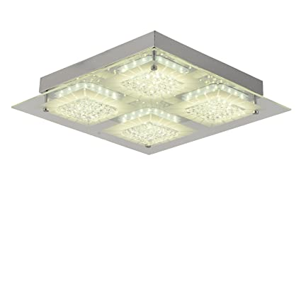 Ceiling light modern flush mount ceiling lamp dimmable led kitchen ceiling light modern flush mount ceiling lamp dimmable led kitchen lighting fixture square lamp k9 crystal mozeypictures Gallery