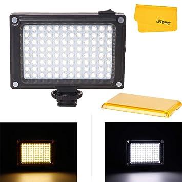 Ulanzi - Lámpara de iluminación para cámara réflex Canon, Nikon ...