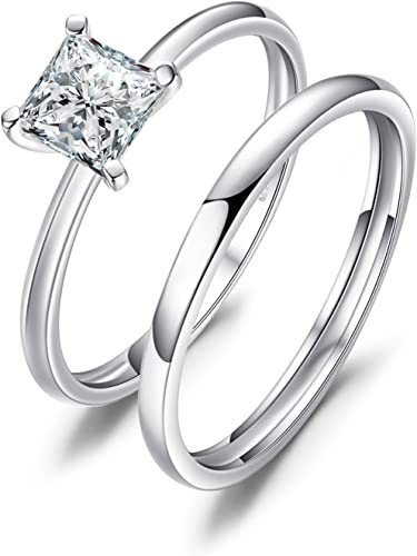 Amazon Com Jewelrypalace Wedding Rings Wedding Bands Solitaire