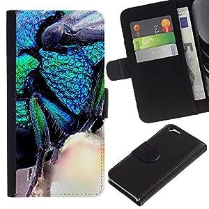 All Phone Most Case / Oferta Especial Cáscara Funda de cuero Monedero Cubierta de proteccion Caso / Wallet Case for Apple Iphone 6 // Plant Nature Forrest Flower 18