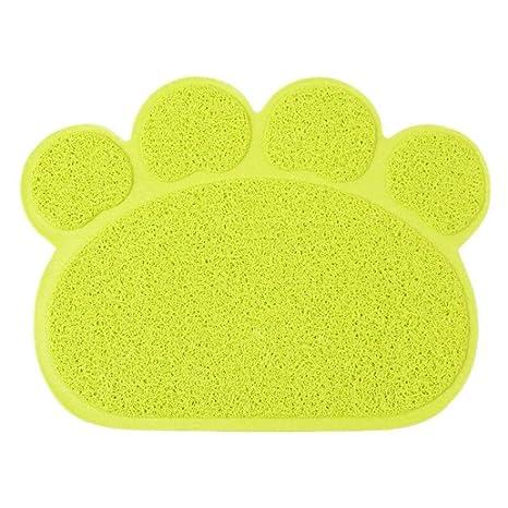 CHONGWFS Alfombrilla De Ráton para Gatos Alfombra De Felpudos Alfombrilla para Perros Alfombrilla para Perros Material