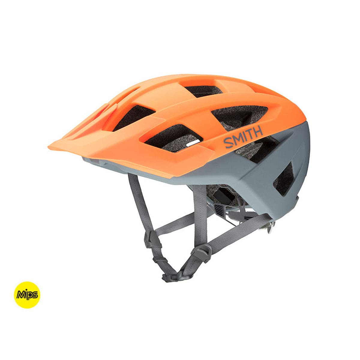 Smith Optics 2019 Venture MIPS Adult MTB Cycling Helmet - Matte Heat/Charcoal/Large by Smith Optics