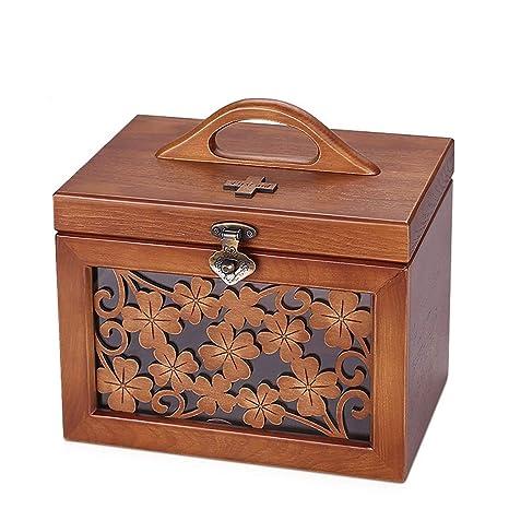 Amazon.com: IPurpleBTS - Caja de almacenamiento de madera ...