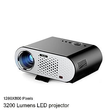 Proyector de Video NewPal GP90 3200 lúmenes 1080P para Cine en ...