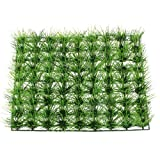 Uxcell House Ornament Plastic Artificial Green Turf Lawn, 8.7 by 8.7-Inch
