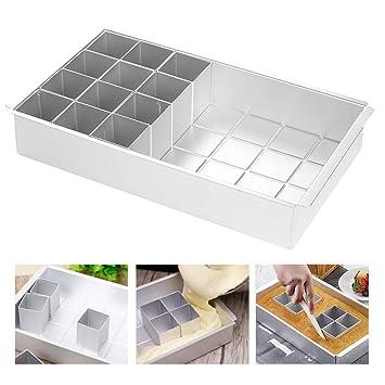 Atpwonz Backformen Aluminium Kuchenformen Abnehmbar Torten Kuchen