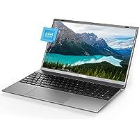 Windows Laptop 15.6 inch 8GB RAM DDR4 256GB M.2 SSD Notebook Computers, Intel J4125Quad-Core Computer Laptop, 1080P IPS…
