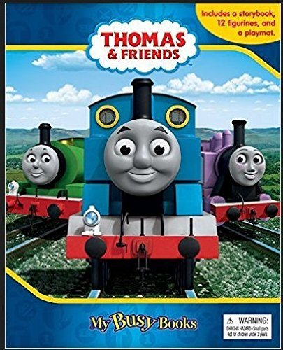 Price comparison product image My Busy Books: Thomas & Friends with Figurines & Playmat