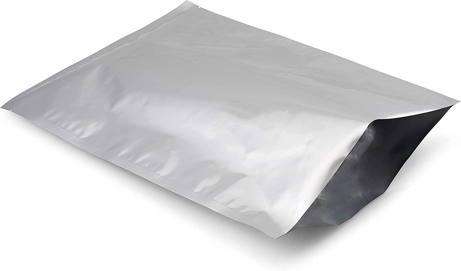 Nave Gear - (50 Pack) 1 Gallon Mylar Bags 5 Mil Thick for Long Term Food Storage - Food Grade Heat Seal Mylar Bag