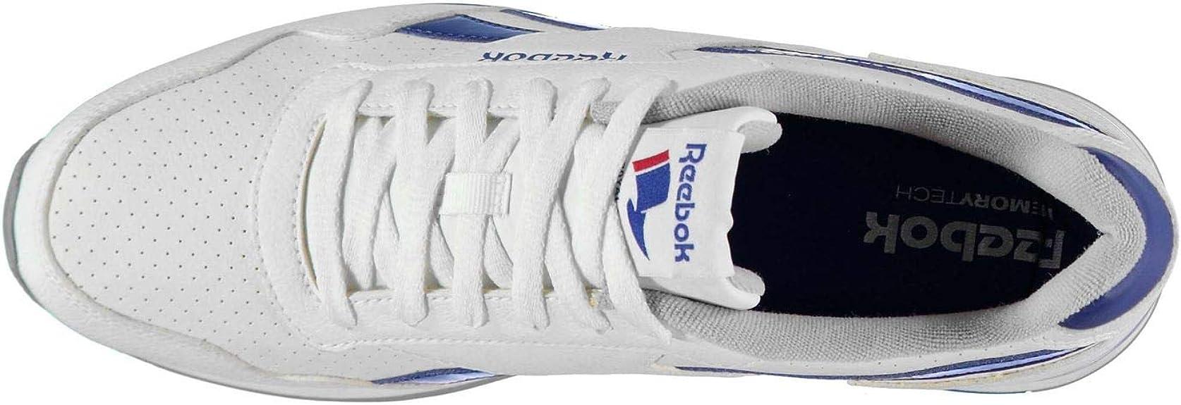 Reebok Royal Glide Clip Herren Perforiert Turnschuhe Sneaker