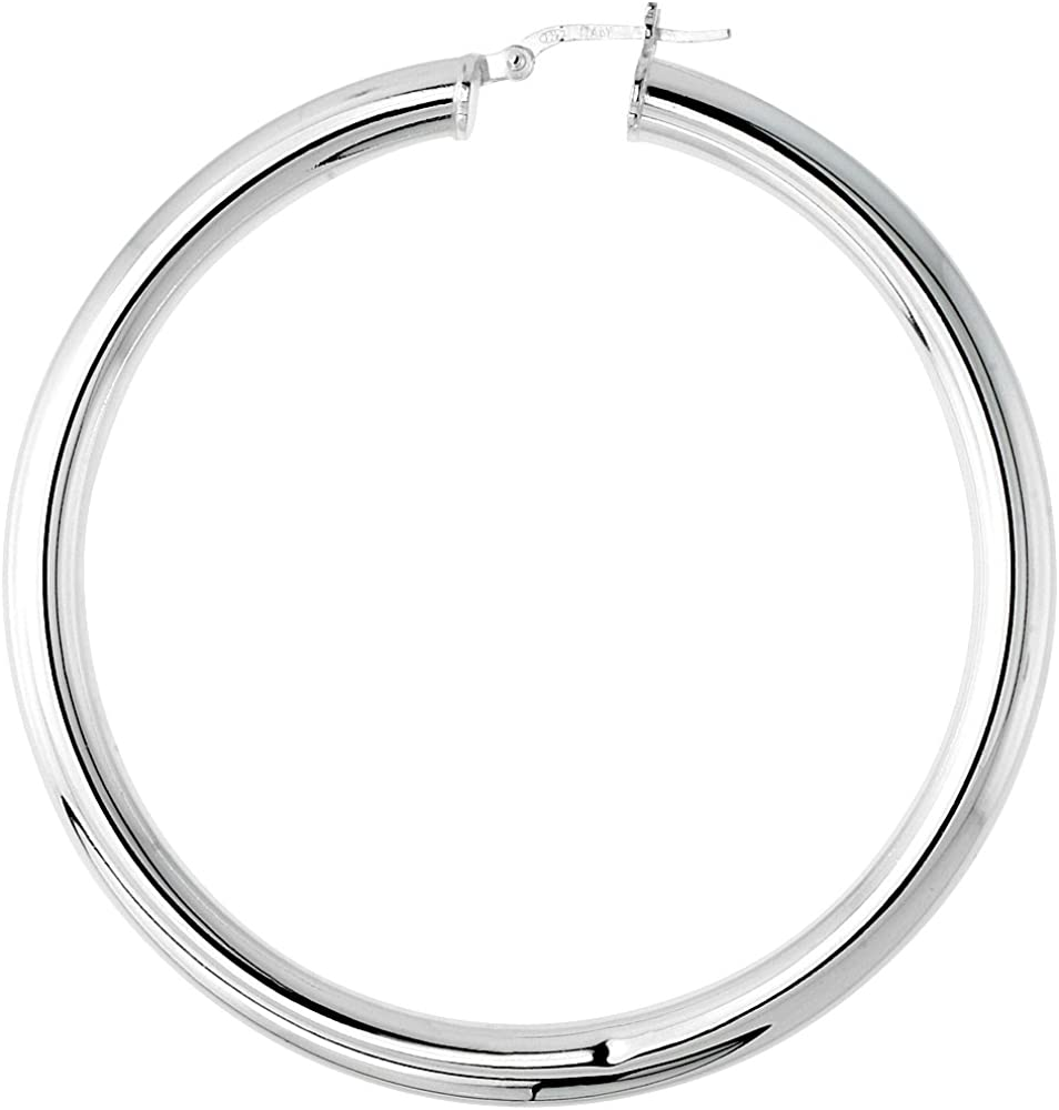 Sterling Silver 5mm Thick...