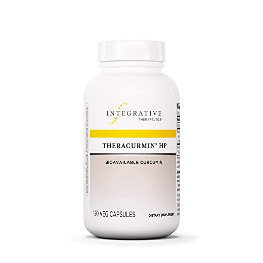 The Integrative Therapeutics - Theracurmin HP - Turmeric, Curcumin Supplement travel product recommended by Kylene Bogden on Pretty Progressive.