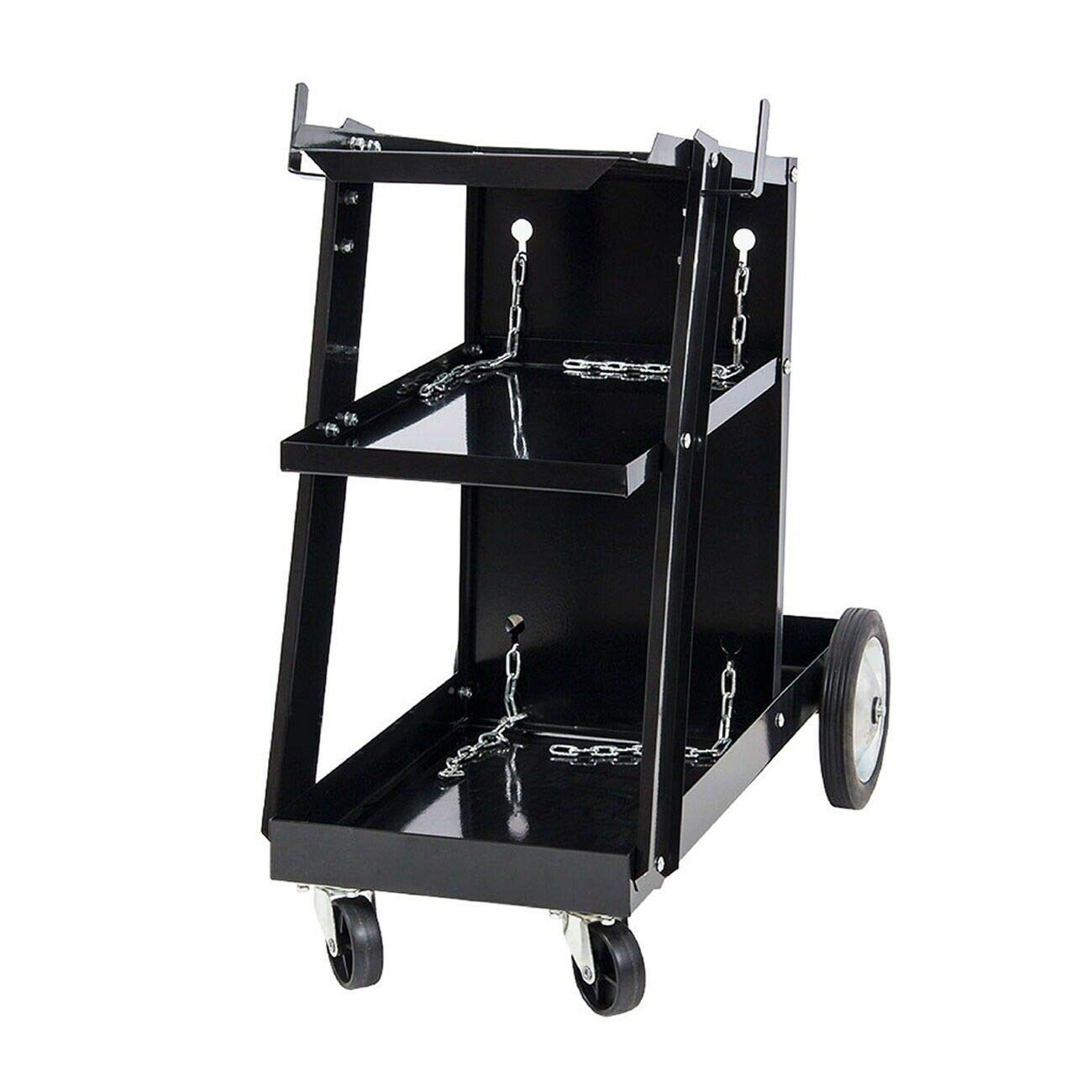 Universal Welding Cart Storage Accessories Portable Tools Wheels Easy Moved Machine Welders Home Garage