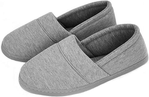 YOOEEN Zapatillas de Estar por Casa para Mujer Invierno Ligero Suave Zapatos de Algodón Comodo Transpirable ...