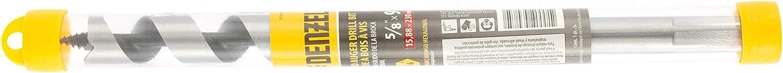 DENZEL Wood auger drill bit hex shank 5//8х 9