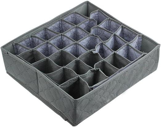 hunpta 30 celdas carbón de bambú calcetines corbatas cajones ...