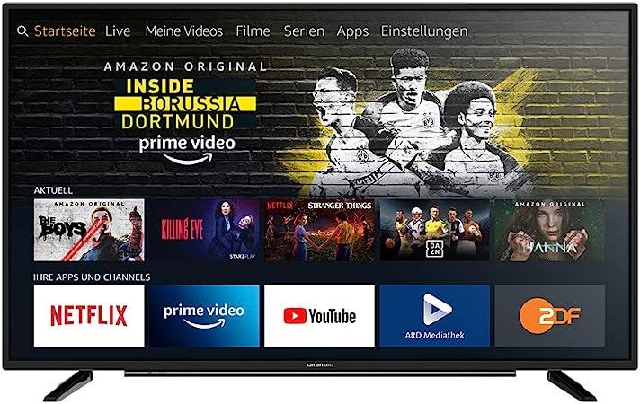 Grundig Vision 6 Fire Tv Edition 32 Gfb 6060 80 Cm 32 Inch Tv Full Hd Alexa Voice Control Magic Fidelity Black Model Year 2019 Home Cinema Tv Video