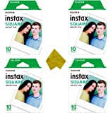 Square Instant Film (40 Exposures) for SQ20 SQ10 SQ6 Hybrid Instant Camera and SP-3 Mobile Printer (4-Pack)