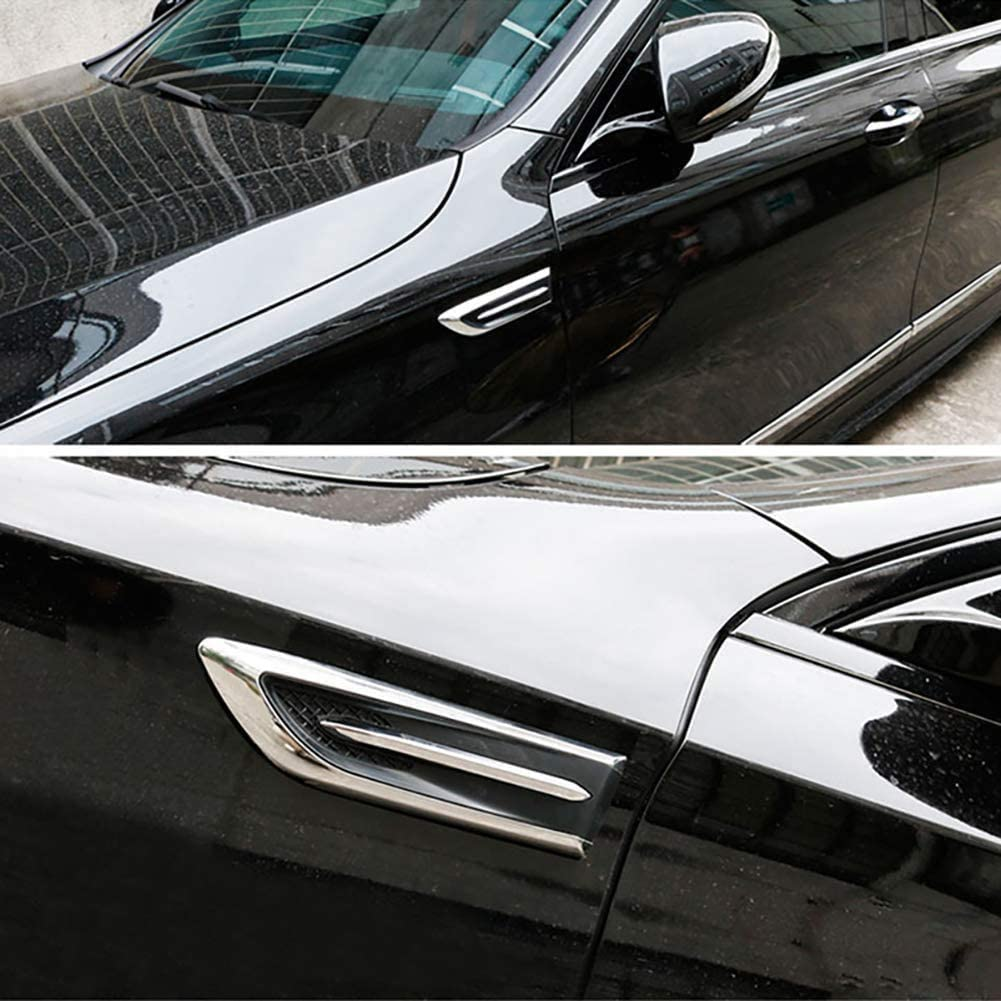 XHNICE Autoseite Luftauslass Kotfl/ügelhaube Dekorativ F/ür Mercedes-Benz Serie-A Bcesgm Ml Glk Cl CLK CLS Gl Glk R Sl SLK SLS Amg 2 St/ück//Set Links Und Rechts