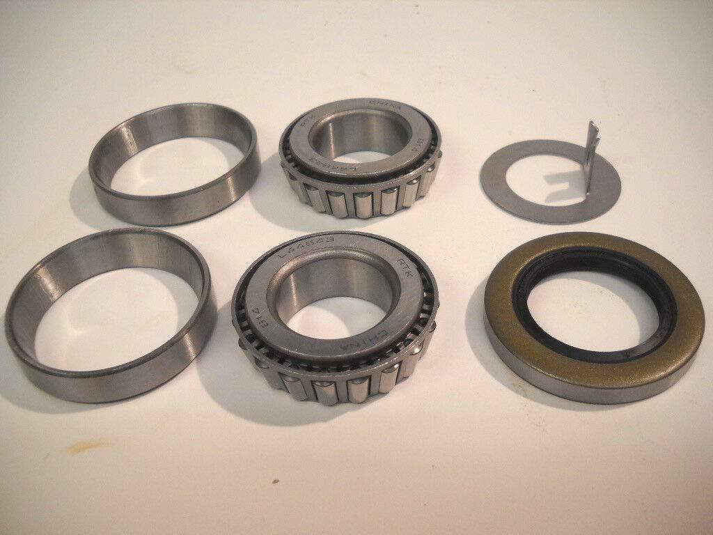 Trailer Wheel Bearing Kit 1.00'' 2000-2200# Axle BK1-100 by unbrand