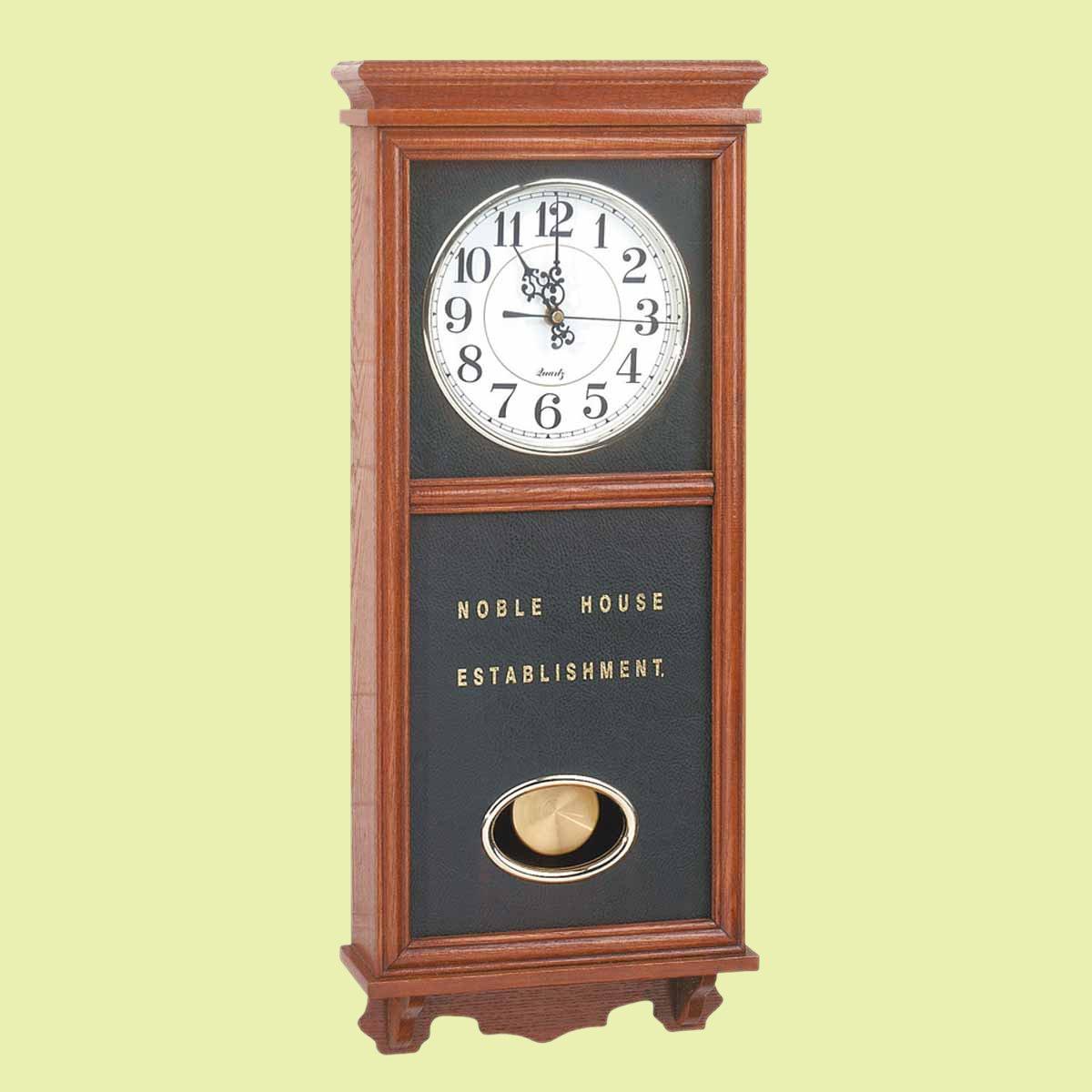 Amazon clocks wood battery operated pendulum clock amazon clocks wood battery operated pendulum clock renovators supply home kitchen amipublicfo Gallery