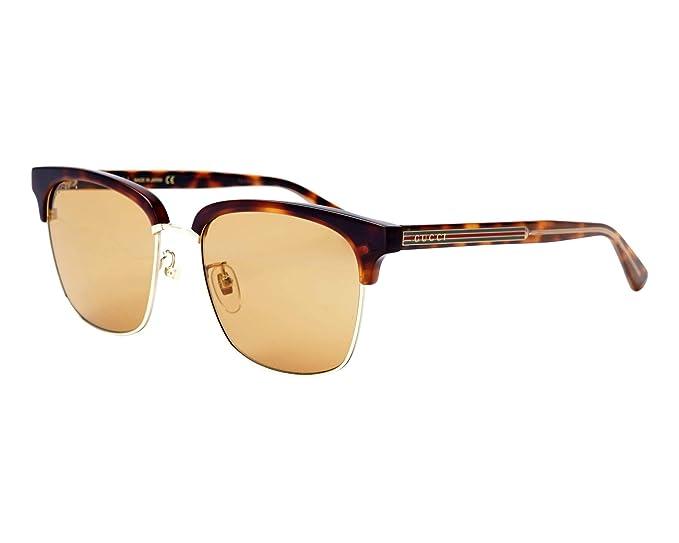 Gucci GG0382S-004 Gafas de sol, Havana, 56 para Hombre ...