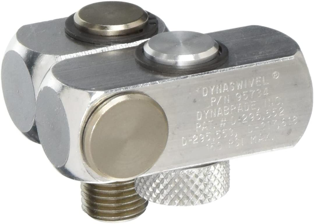 95460 M 1//4 In. Swivel Connector Dynabrade NPT x NPT M