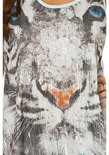 dmarkevous - Camiseta sin mangas - para mujer Azul
