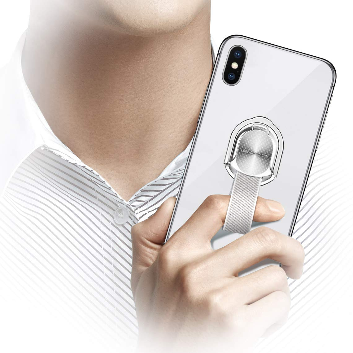 Cases, Covers & Skins Metal Finger Ring Car Holder Stand Magnetic Bracket Case Fr Iphone Xs Max Xr X 8 Neither Too Hard Nor Too Soft