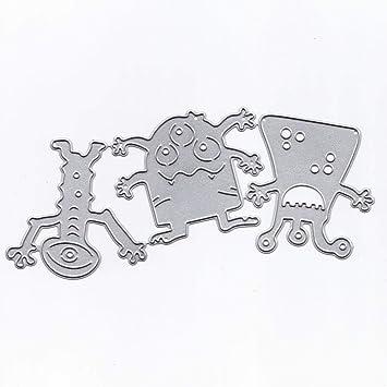 KIMODO DIY troquelado plantillas para álbum de recortes álbum tarjetas de papel Craft: Amazon.es: Hogar