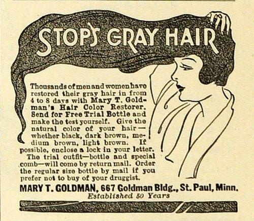 1918-ad-mary-t-goldman-hair-color-restorer-bottle-dye-coloring-gray-hair-care-original-print-ad
