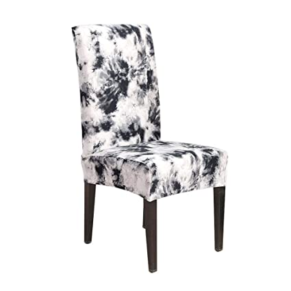 Stupendous Amazon Com Puremood Stretch Chair Covers Short Dining Room Creativecarmelina Interior Chair Design Creativecarmelinacom