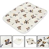Letech® Wickelunterlage für Babys und Kleinkinder, wasserdicht, waschbar, wiederverwendbare Windel Matte