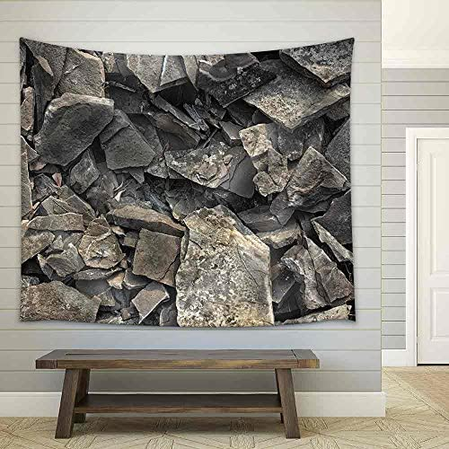 Rock Texture Background Fabric Wall