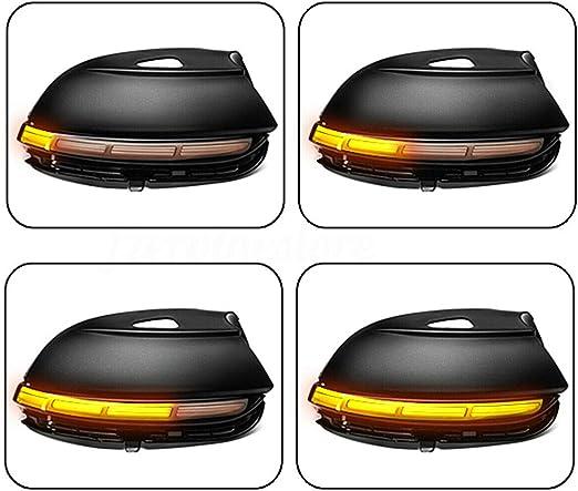 Ger/äucherte Linse Dynamic LED R/ückspiegel Blinker Licht f/ür Passat B7 Scirocco MK3 CC EOS K/äfer
