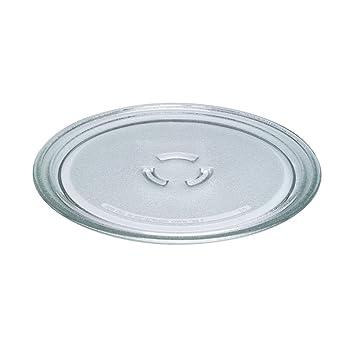 Whirlpool - Plato de cristal para microondas (diámetro: 28 ...