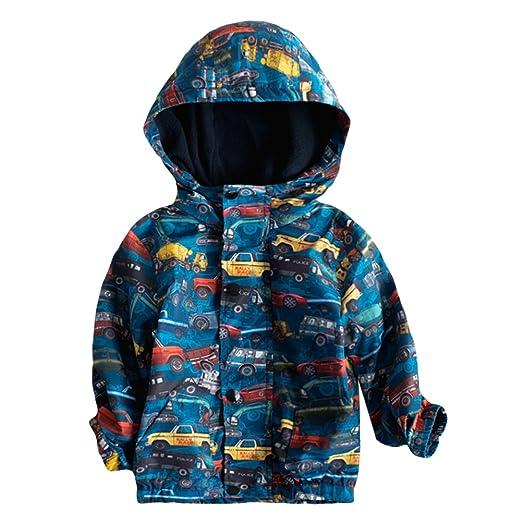 Amazon.com  Toddler Kid Little Boy Hoodie Jacket Baby Car Fleece ... f200db67b