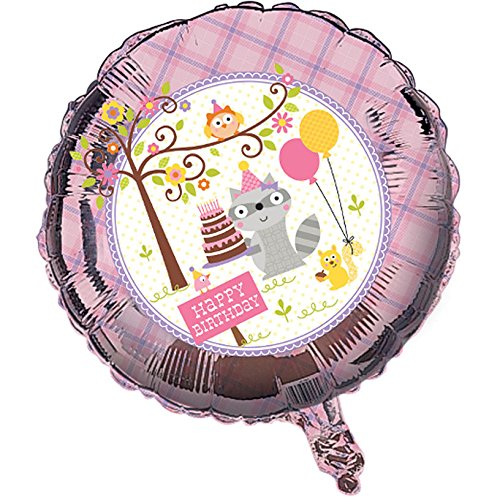 Happi Woodland Girl Foil Balloon ()