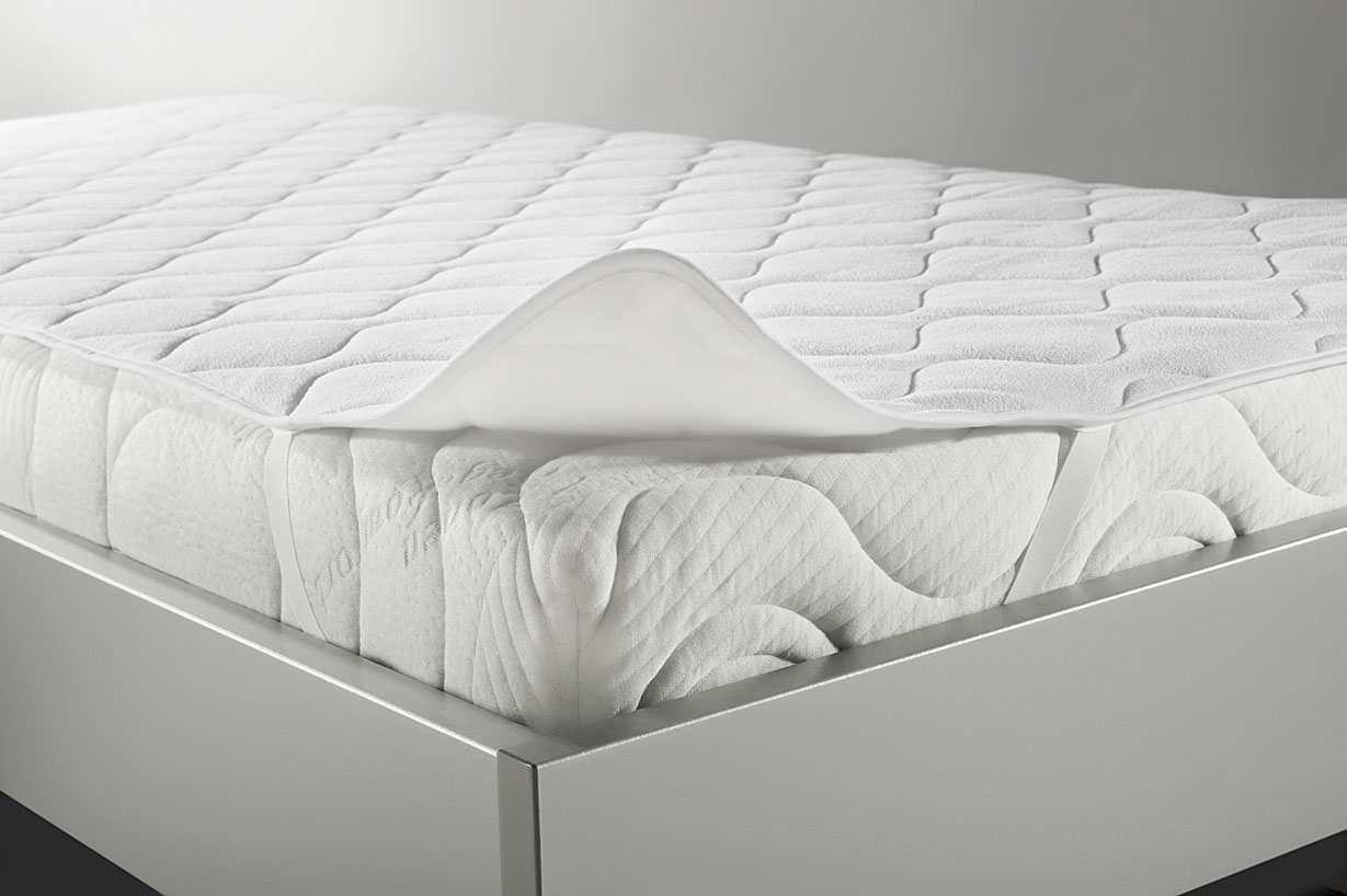 BNP Bed Care Matratzenauflage duplex mit Sommer und Winterseite, Textil, weiß, 200 x 200 cm