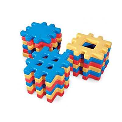Little Tikes Big Waffle Block Set - 18 pieces: Toys & Games