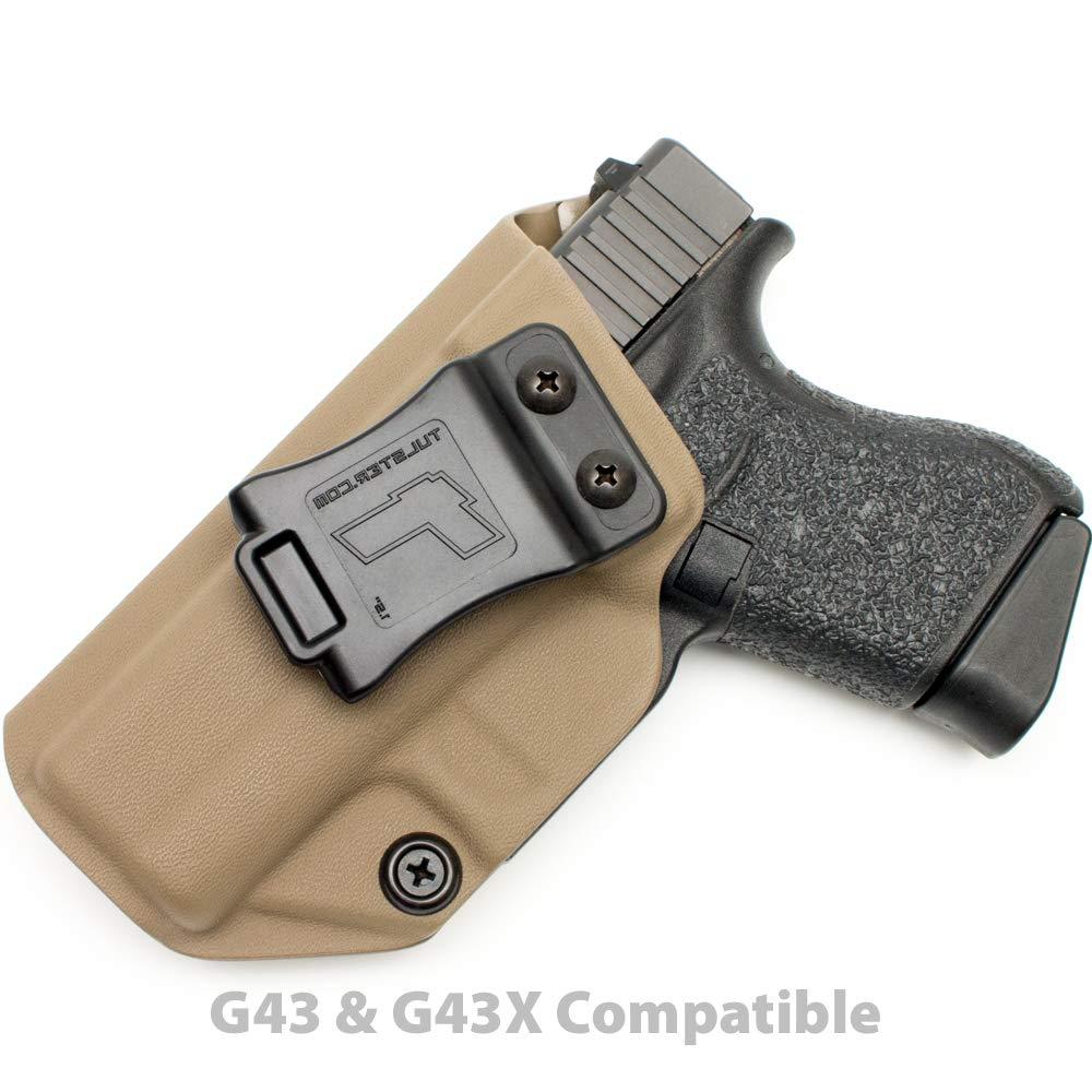 Tulster Glock 43/43X Holster IWB Profile Holster (Flat Dark Earth - Left Hand)