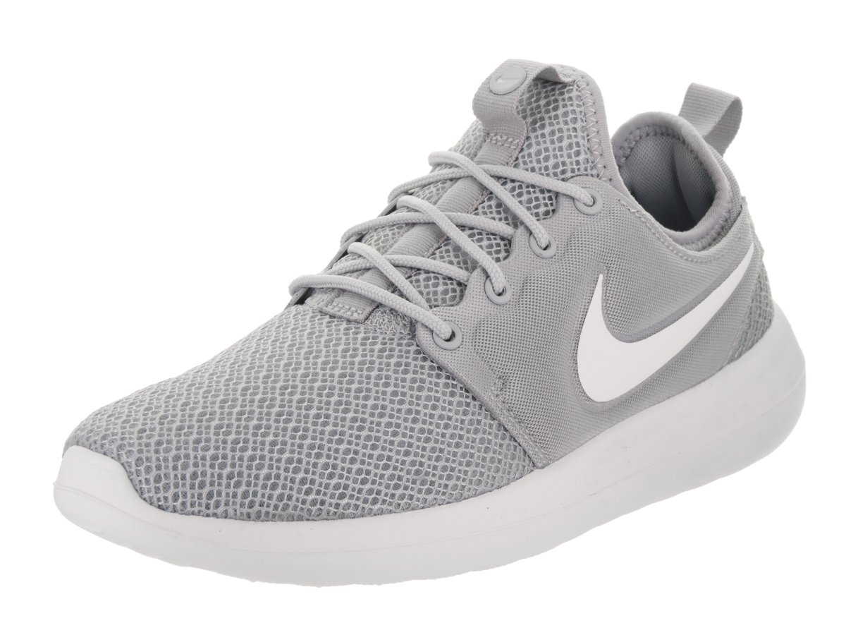 0fe4514599fa0 Galleon - NIKE Womens Roshe Two Running Shoes Wolf Grey White Wolf  Grey White 844931-009 Size 8.5