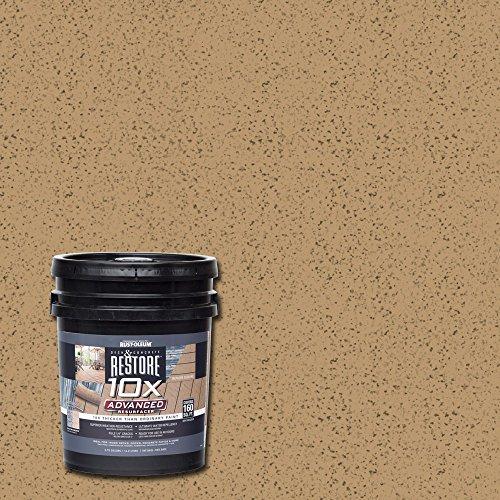 Rust-Oleum 291537 Restore 10X Advanced Resurfacer, 3.75 gallon, Sandstone