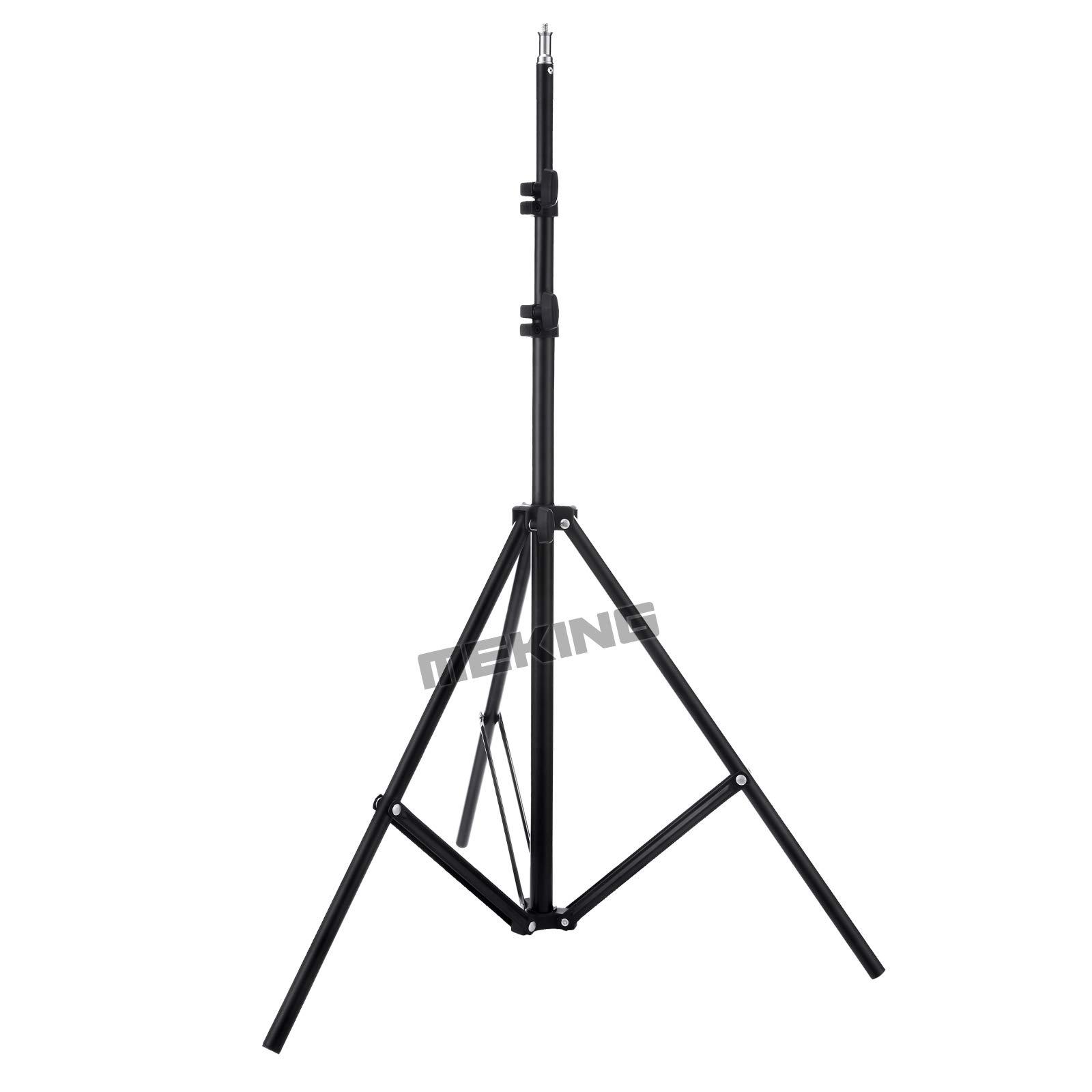 Meking Photography Telescopic Lighting Boom Arm Stand Kit with Light Stand + 78-138cm Boom Arm Holder + Light Bag + Sand bag for Photo Studio Shooting