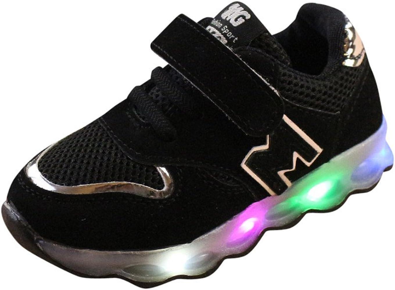 Cuekondy Toddler LED Light Shoes Soft