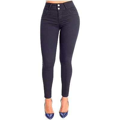Buy Lowla Colombian Skinny Jeans For Women Butt Lift Pantalones De Mujer Colombianos Online In Indonesia B081s6z2fd