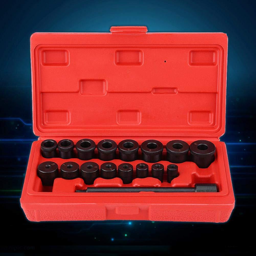 EBTOOLS 17Pcs Embrayage de Kit Doutil Dembrayage de Mandrin de Centrage Installant lensemble Daccouplement D/épine