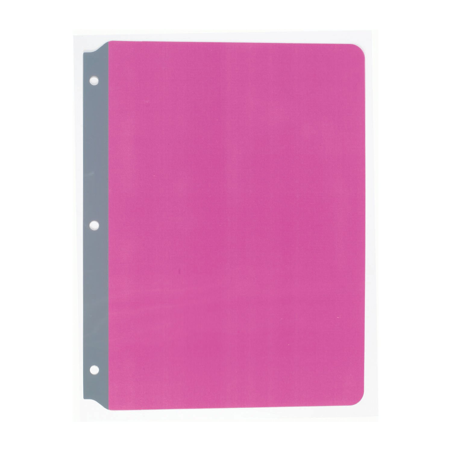 Ashley Productions Full Page Reading Guide, 8.5'' x 11'', Pink, Pack of 6