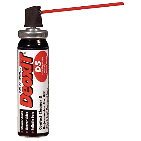 CAIG Laboratories DeoxIT DN5 Mini-Spray, Nonflammable 5% Solution 14 g