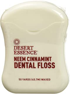 product image for DESERT ESSENCE Neem Cinnamint Floss 6 Piece, 0.02 Pound